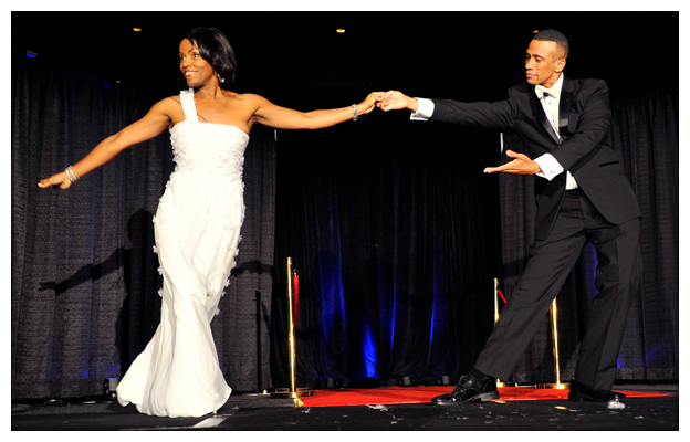 Barack Obama Impersonator Ron Butler And Michelle Obama Impersonator Vernetta Jenkins