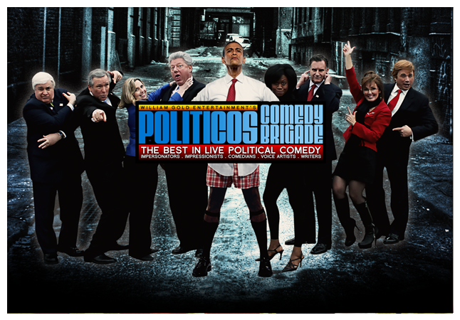 Political Comedy Troupe Politicos Comedy Brigade