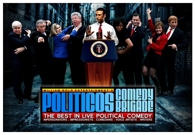 Politicos Comedy Brigade The Best Political Comedy