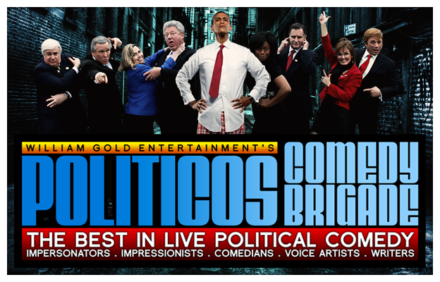 Politicos Comedy Brigade - The Best Live Political Comedy Team