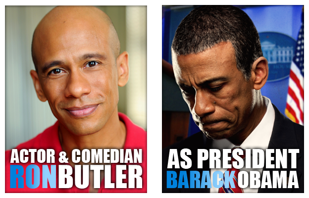 Obama Impersonator Ron Butler