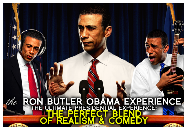Obama Impersonator Ron Butler Ultimate Presidential Experience