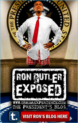 Obama Impersonator Ron Butler Blog